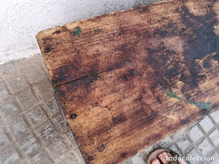 Antigüedades: BASCULA BALANZA ROMANA SIGLO XIX PARA PESAR TONELES-BARRICAS-BOTAS DE VINO VITICULTURA--REF-DC - Foto 74 - 172783698