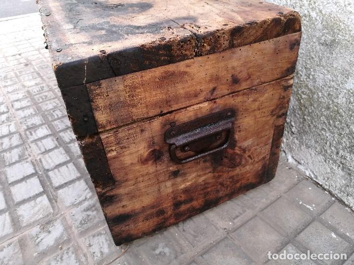 Antigüedades: BASCULA BALANZA ROMANA SIGLO XIX PARA PESAR TONELES-BARRICAS-BOTAS DE VINO VITICULTURA--REF-DC - Foto 80 - 172783698