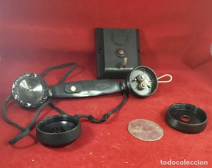 Teléfonos: Antiguo teléfono interfono, ó parlifono, LM Ericsson - Foto 2 - 172820630