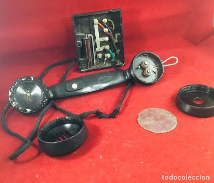 Teléfonos: Antiguo teléfono interfono, ó parlifono, LM Ericsson - Foto 3 - 172820630