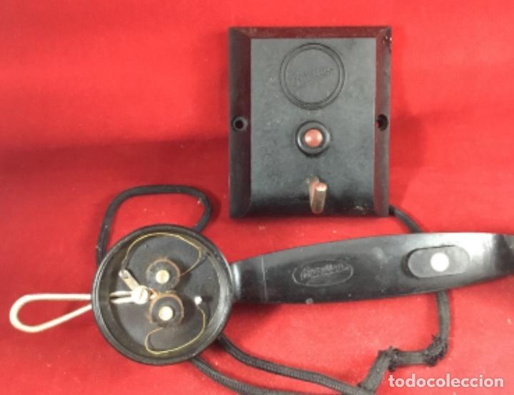 Teléfonos: Antiguo teléfono interfono, ó parlifono, LM Ericsson - Foto 4 - 172820630