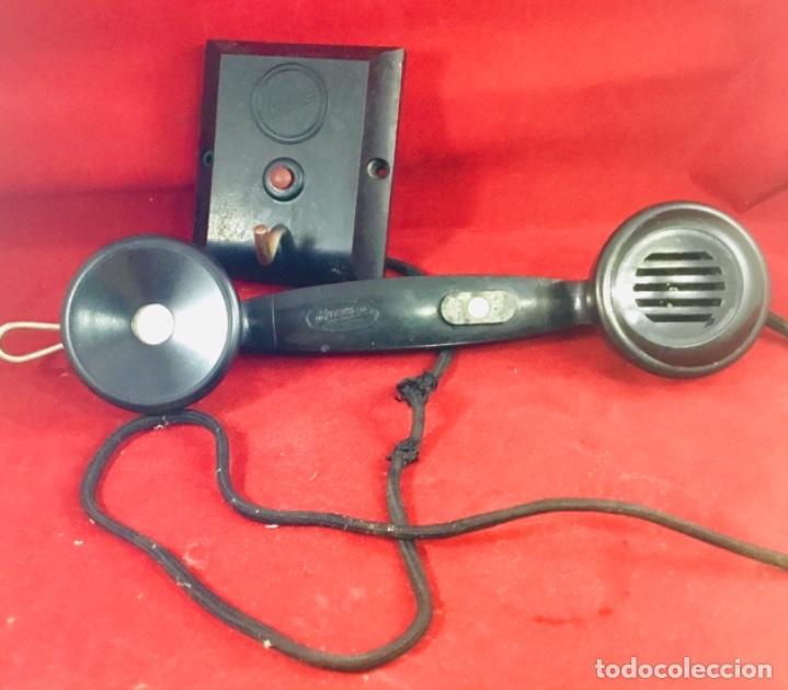 Teléfonos: Antiguo teléfono interfono, ó parlifono, LM Ericsson - Foto 6 - 172820630