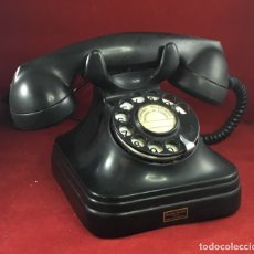 Teléfonos: ANTIGUO TELÉFONO ESPAÑOL, BAQUELITA, 5523A, DE STANDARD ELÉCTRICA, PARA LA CTNE. Lote 172820899