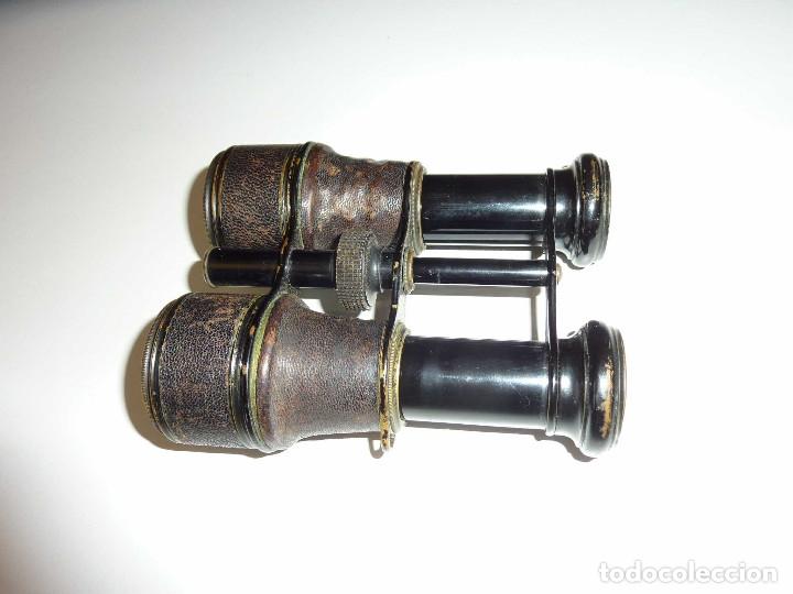 Antigüedades: Binocular prismatico de Bolsio impertinente teatro opera antiguos FINALES DEL SIGLO XIX Hecho LOTON - Foto 4 - 172837370