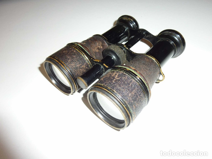 Antigüedades: Binocular prismatico de Bolsio impertinente teatro opera antiguos FINALES DEL SIGLO XIX Hecho LOTON - Foto 5 - 172837370