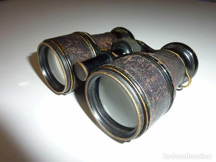 Antigüedades: Binocular prismatico de Bolsio impertinente teatro opera antiguos FINALES DEL SIGLO XIX Hecho LOTON - Foto 7 - 172837370