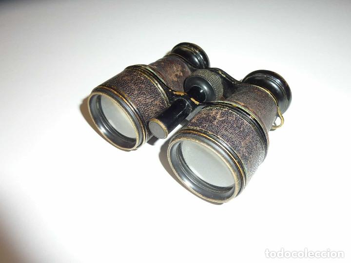 Antigüedades: Binocular prismatico de Bolsio impertinente teatro opera antiguos FINALES DEL SIGLO XIX Hecho LOTON - Foto 2 - 172837370