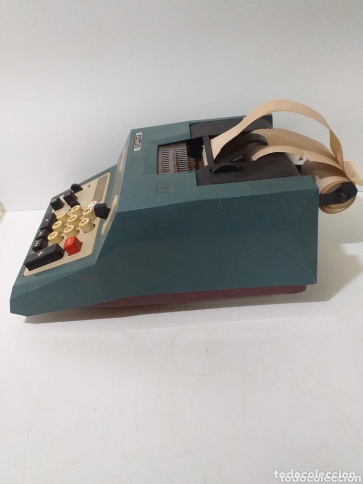 Antigüedades: Antigua calculadora Hispano Olivetti, de comercio, años 60, electrica. - Foto 2 - 172852185