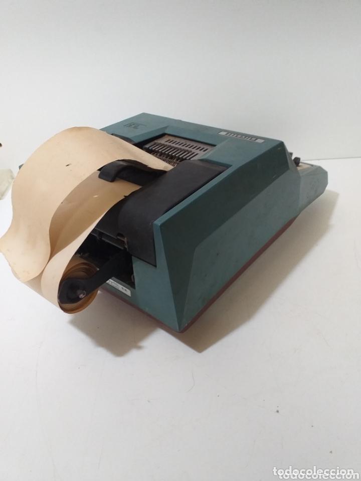 Antigüedades: Antigua calculadora Hispano Olivetti, de comercio, años 60, electrica. - Foto 3 - 172852185