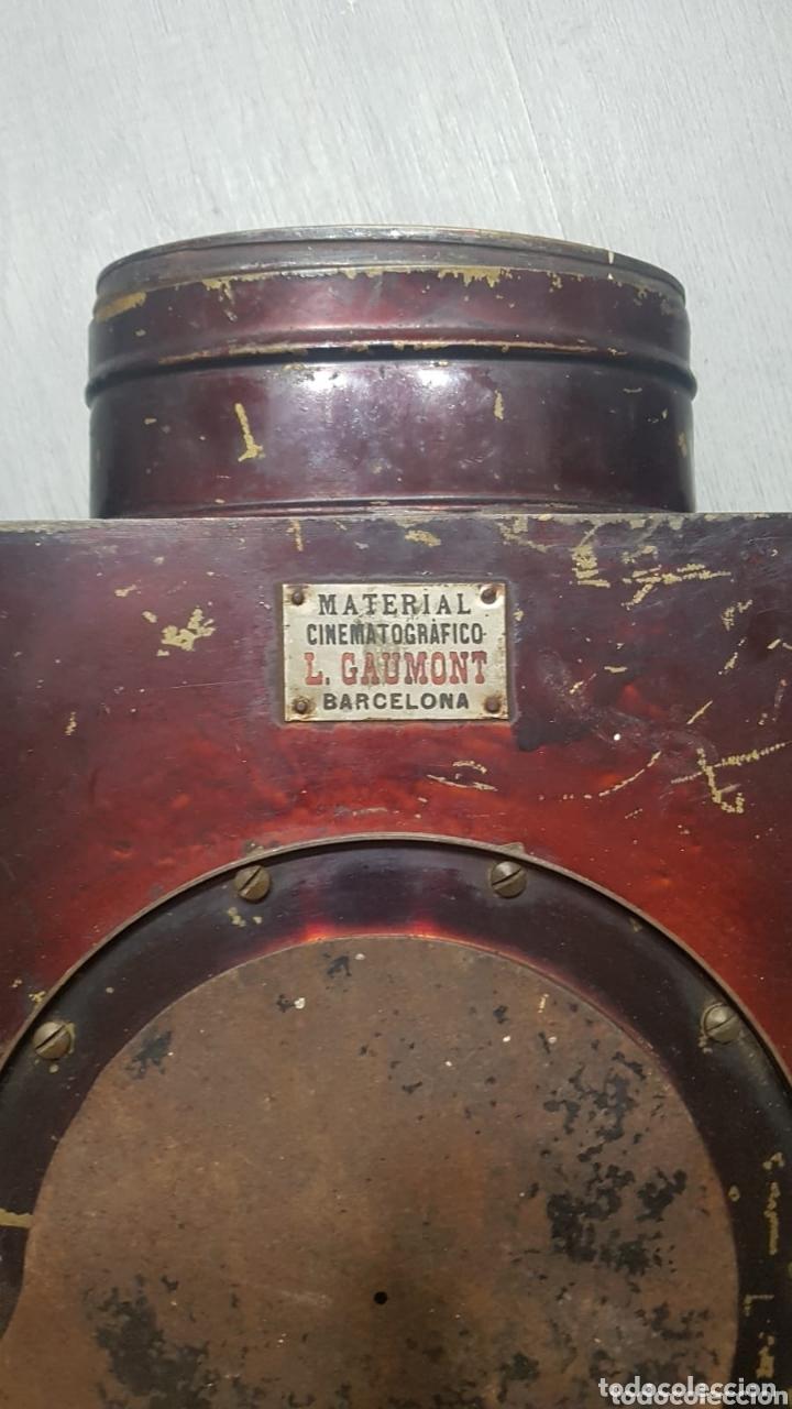 Antigüedades: Proyector de cine L. Gaumont - Foto 2 - 172854303