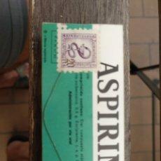 Antigüedades: CAJA ASPIRINAS SELLADA. Lote 172884714