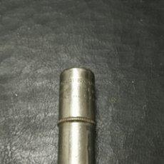 Antigüedades: ANTIGUO INHALADOR DE METAL SHARP & DOHME MENTHOL CONE IN HALER PAT APL FOR. EE.UU. PRINCIPIO S. XX. Lote 172920782