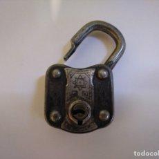 Antigüedades: PRECIOSO CANDADO ANTIGUO SIN LLAVE. Lote 172959254