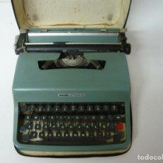 Antigüedades: OLIVETTI LETTERA 32 CON FUNDA / EN BUEN ESTADO Y FUNCIONANDO. Lote 172970558