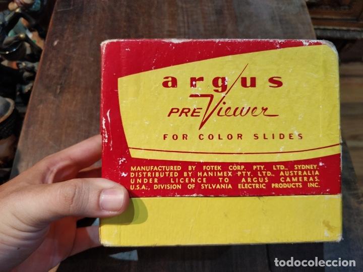 Antigüedades: ARGUS PreViewer, visor con caja original - Foto 2 - 173045903