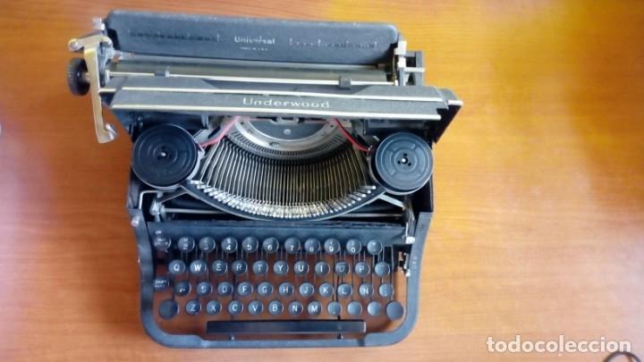 Antigüedades: Máquina de escribir Underwood Universal Made IN. U.S.A - Foto 2 - 173119775
