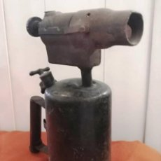 Antigüedades: ANTIGUO SOPLETE GASOLINA GRAN TAMAÑO. Lote 173187925