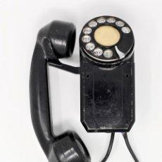 Teléfonos: TELÉFONO DE PARED VINTAGE MONOPHONE AÑOS 40. Lote 173398473
