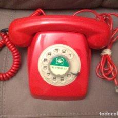 Teléfonos: TELÉFONO HERALDO ROJO, ORIGINAL CITESA, ENVÍO GRATIS, ADAPTADO Y FUNCIONANDO. Lote 173425472