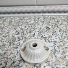 Antiquités: ANTIGUA ROSETA DE PORCELANA. Lote 173456495