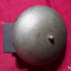 Antigüedades: TIMBRE CAMPANA INDUSTRIAL DE DIAMETRO 15 CM. Lote 173468835