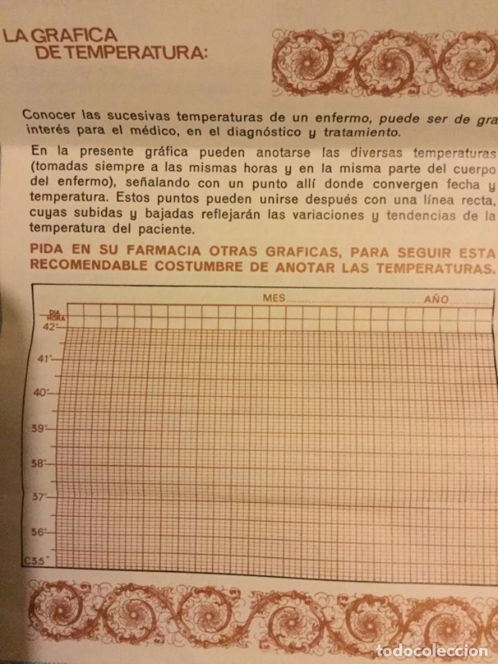 Antigüedades: TERMOMETRO CLINICO DE PRECISION ACOFAR SERIE A MEDICO FARMACIA TODO DE ORIGEN PVP 335 PTS MBE - Foto 6 - 173474098