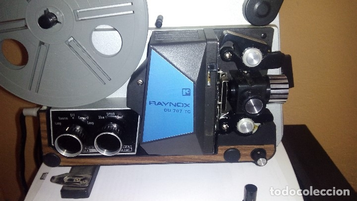 PROYECTOR RAYNOX DU707 SUPER8 Y 8MM (Antigüedades - Técnicas - Aparatos de Cine Antiguo - Cámaras de Super 8 mm Antiguas)