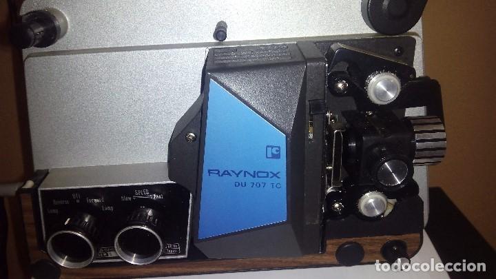 Antigüedades: PROYECTOR RAYNOX DU707 super8 y 8mm - Foto 2 - 173483128