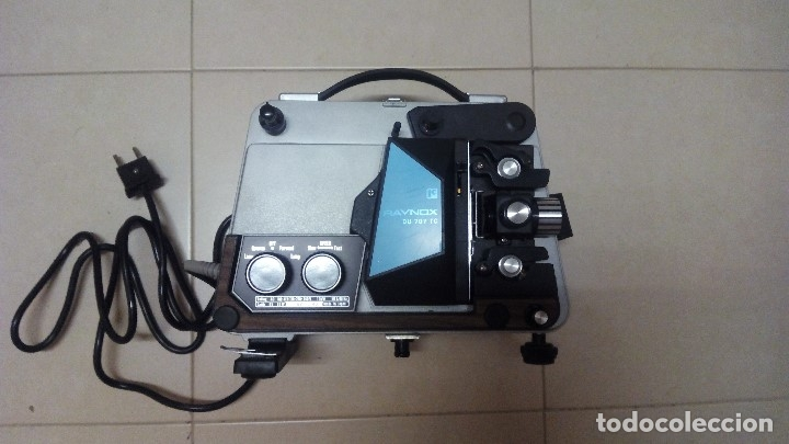 Antigüedades: PROYECTOR RAYNOX DU707 super8 y 8mm - Foto 8 - 173483128