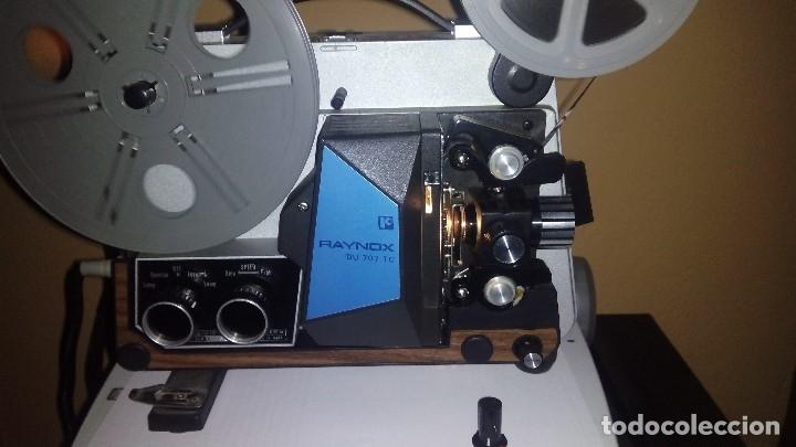 Antigüedades: PROYECTOR RAYNOX DU707 super8 y 8mm - Foto 13 - 173483128