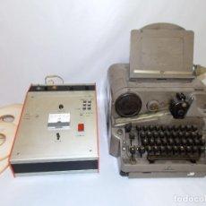 Antigüedades: TELEGRAFO IMPRESOR TELETIPO SIEMENS AÑOS 50 / 60. Lote 173485072