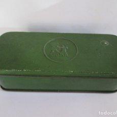 Antigüedades: CAJA METALICA DE MAQUINA DE COSER SIGMA - PARA ACCESORIOS - 17X7X5. Lote 173501880