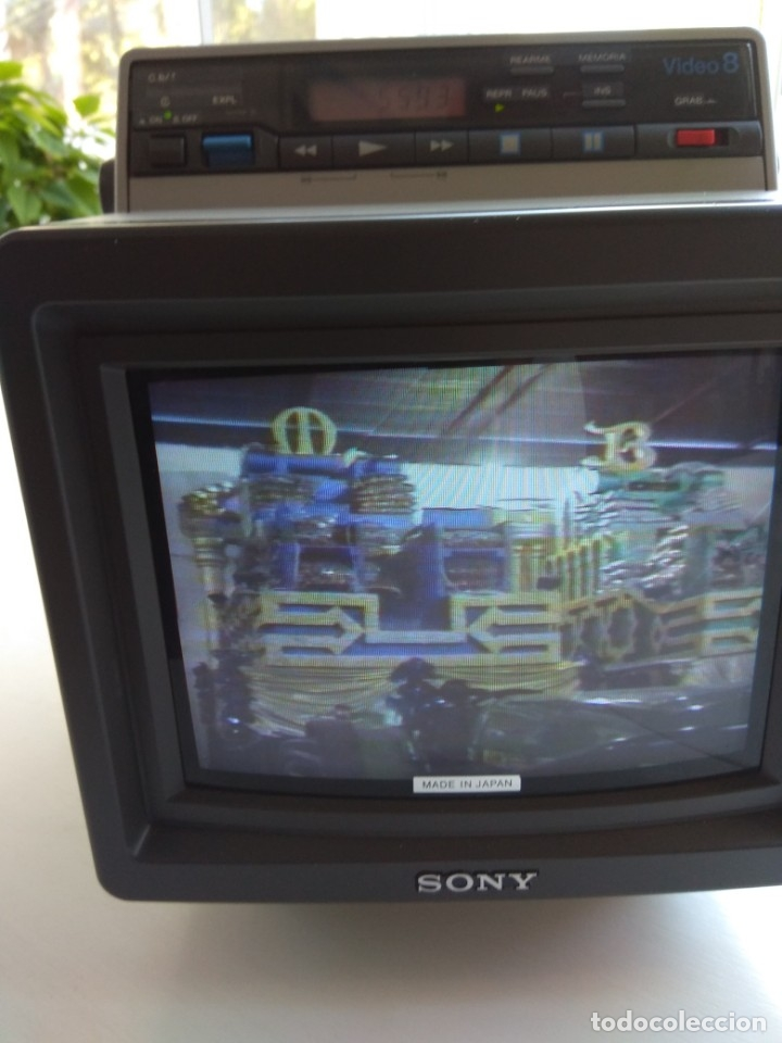 Antigüedades: Reproductor Sony Combo Video 8 Triniton EVM-9010PR - Foto 13 - 173516650