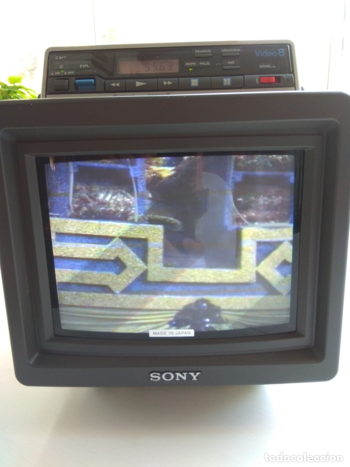 Antigüedades: Reproductor Sony Combo Video 8 Triniton EVM-9010PR - Foto 15 - 173516650