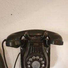 Teléfonos: TELEFONO DE BAQUELITA ORIGINAL. Lote 173524737