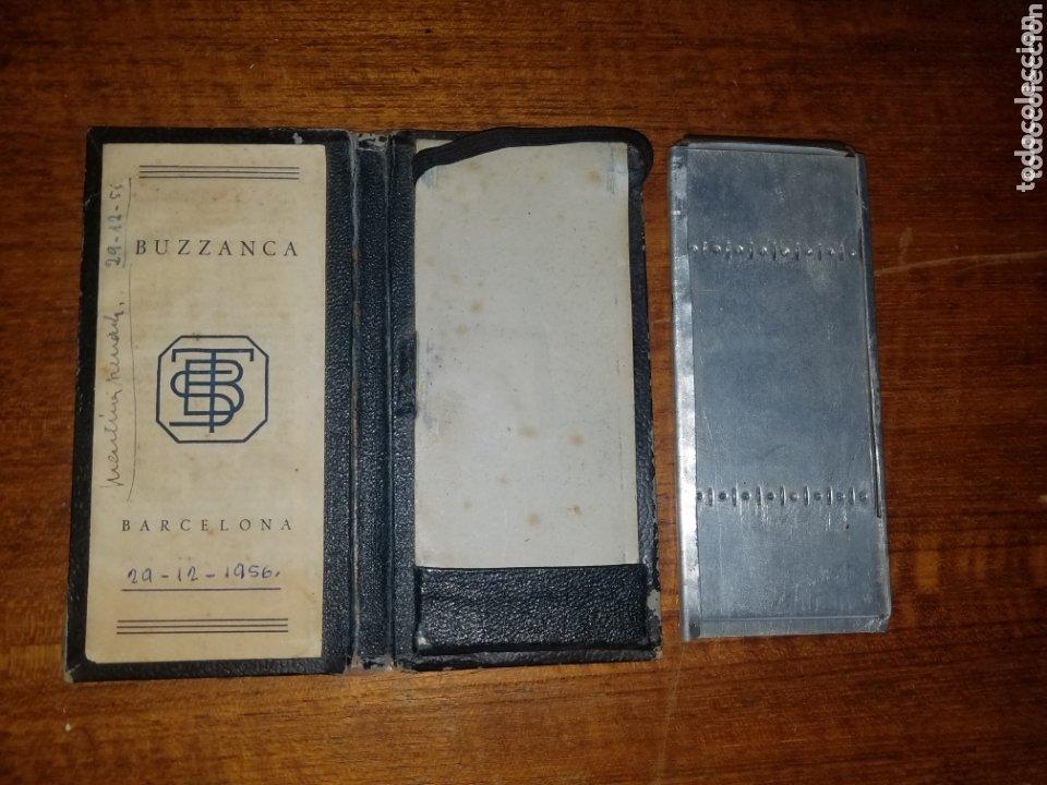Antigüedades: MUY ANTIGUA CALCULADORA BUZZANCA DE LOS AÑOS 20 FABRICADA EN BARCELONA. - Foto 3 - 173559745