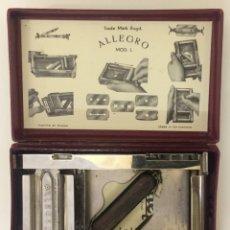 Antigüedades: AFILADOR DE CUCHILLAS DE AFEITAR. ALLEGRO, MOD. L. FABRICADO EN SUIZA. Lote 173602759