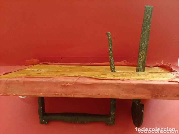 Antigüedades: Tirador de pestillo de hierro forjado del s. XVII. - Foto 4 - 41016482