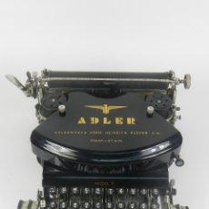 Antigüedades: MAQUINA DE ESCRIBIR ADLER Nº7 AÑO 1910 TYPEWRITER SCHREIBMACHINE. Lote 173844885