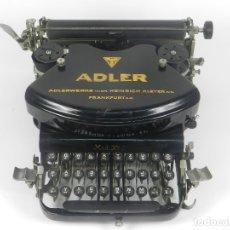 Antigüedades: MAQUINA DE ESCRIBIR ADLER Nº7 AÑO 1910 TYPEWRITER SCHREIBMACHINE. Lote 173845229