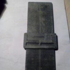 Antigüedades: ESPECIE DE CALCULADORA CUENTA TORSIONES DE HIJOS DE J. PALAU RIBES .. Lote 173854549