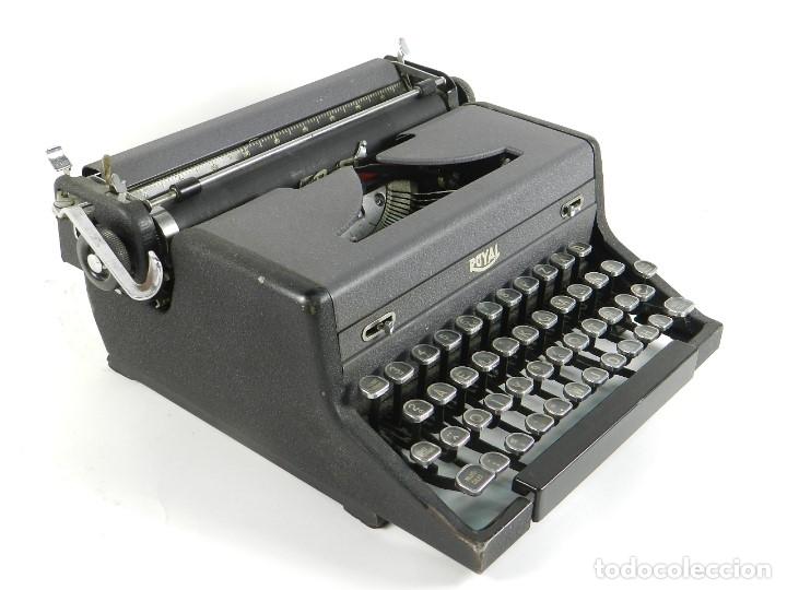 MAQUINA DE ESCRIBIR ROYAL ARROW AÑO 1942 TYPEWRITER SCHREIBMASCHINE (Antigüedades - Técnicas - Máquinas de Escribir Antiguas - Royal)