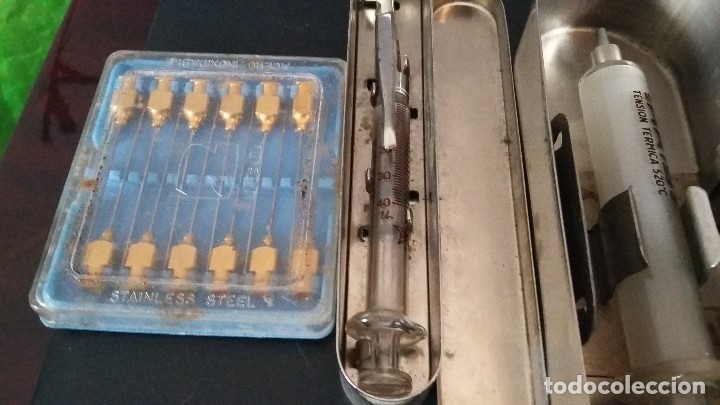 Antigüedades: 6 PIEZAS ANTIGUAS MEDICO O PRACTICANTE ATS, VER FOTOS - Foto 5 - 173927510