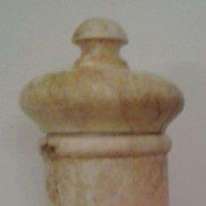 Antigüedades: ALBARELO DE ALABASTRO. 30CM DE ALTURA. Lote 173936063