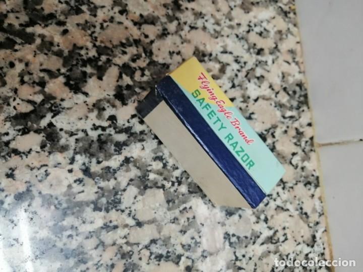 Antigüedades: MAQUINITA DE AFEITAR MARCA SAFETY RAZON CON ESTUCHEINA - Foto 5 - 173939435