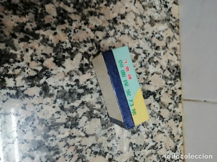 Antigüedades: MAQUINITA DE AFEITAR MARCA SAFETY RAZON CON ESTUCHEINA - Foto 6 - 173939435