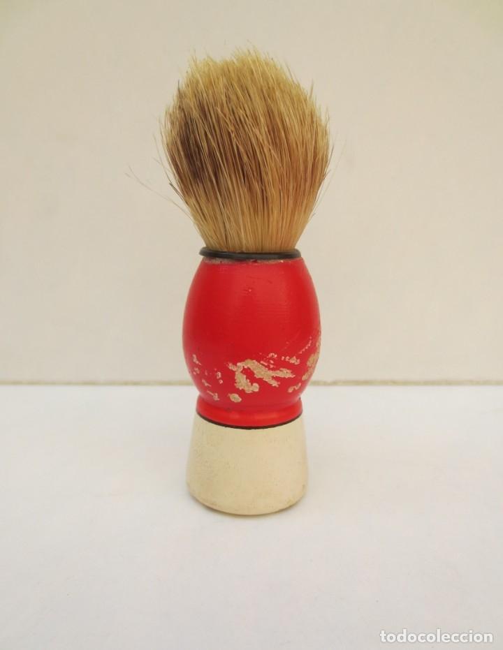 BROCHA DE AFEITAR (Antigüedades - Técnicas - Barbería - Varios Barbería Antiguas)