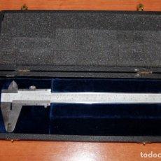 Antigüedades: CALIBRE PIE DE REY - ETALON - SUIZA - CON CAJA ORIGINAL. Lote 173963632