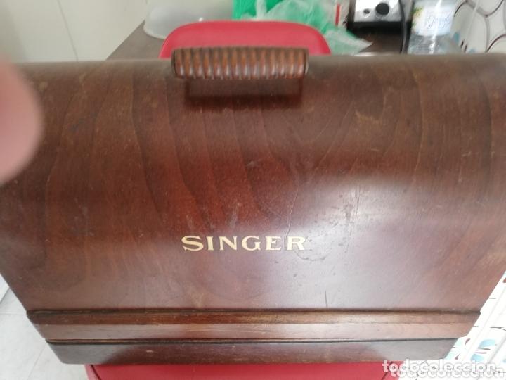 Antigüedades: Maquina de coser finales del 1800..restaurada por singer. Pan de oro.Número serial.. Uníca.. - Foto 15 - 173972865