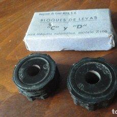 Antigüedades: MAQUINAS DE COSER ALFA.BLOQUES DE LEVAS. C Y D. MAQUINA AUTOMATICA MODELO Z103. Lote 173991852